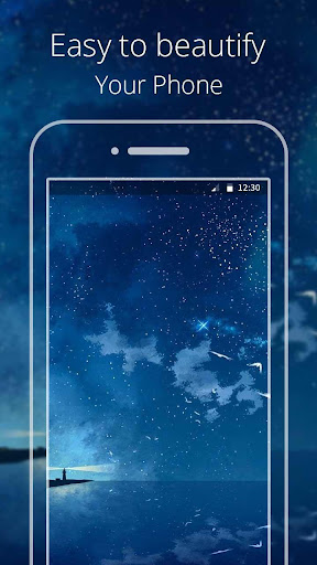 Crescent Moon Live wallpaper|玩個人化App免費|玩APPs