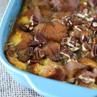Caramel Pecan Breakfast Casserole