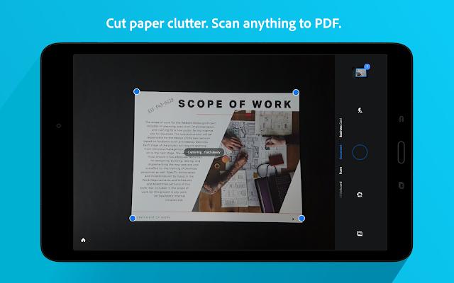 CamScanner alternative App Adobe Scan