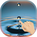 Finger Touch Water Droplet icon