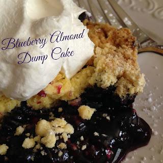 Blueberry Almond Dump Cake.
