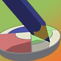 Mix Colors 3D icon