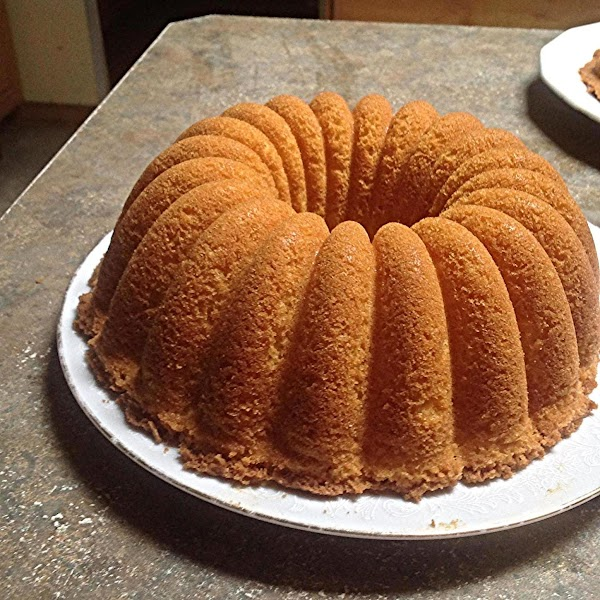 This is the Crown Bundt Cake. I decided to leave them both plain after...