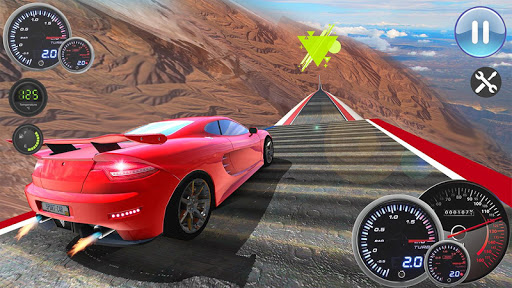 Speed Car Racing Stunts- Impossible Tracks screenshot 9