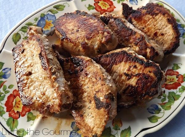 Marinated Boneless Pork Chops Recipe