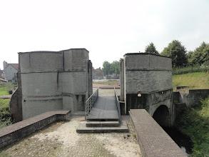 Photo: De poort die ook toegang gaf tot de haven