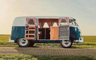 Volkswagen T1 Spijlbus Rent Drenthe