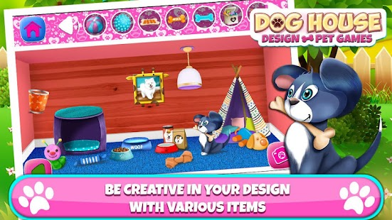 dog house design – pet games - android apps on google play