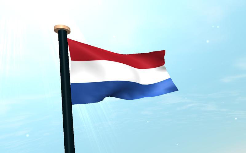 Скриншот Нидерланды Флаг 3D Бесплатных