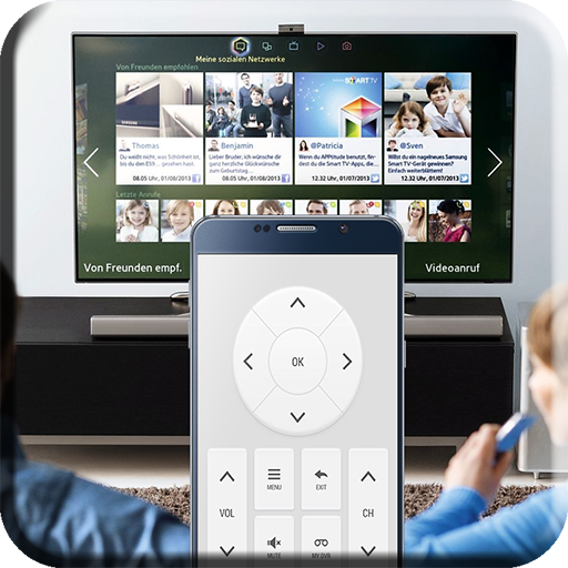 Steer TV with phone