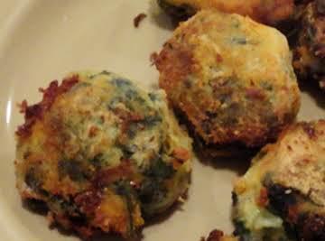 Potato and Spinach Bocconcini