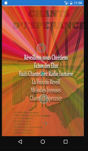 Complete Chant D'esperance App