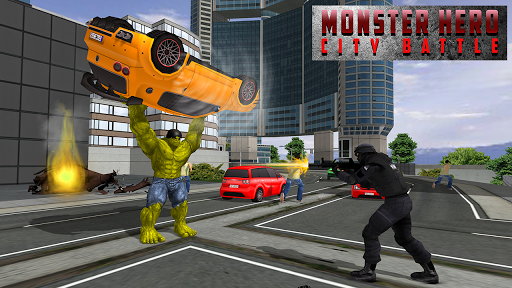 Monster Hero City Battle for PC