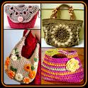 DIY Crochet Bags Purse Stitch Patterns Knitte Idea icon