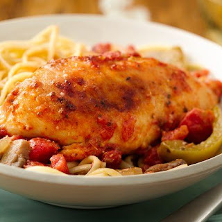 Slow-Cooker Chicken Cacciatore.