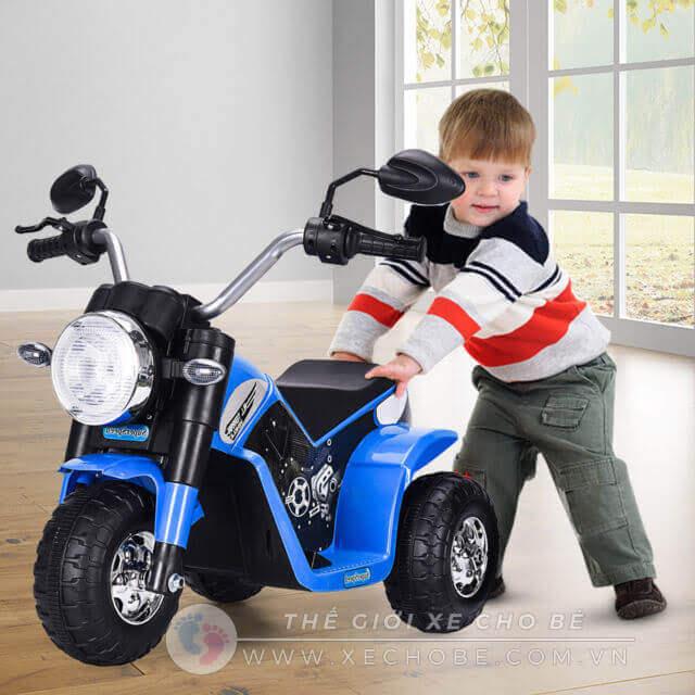 Xe máy điện trẻ em có điều khiển từ xa hay không 4