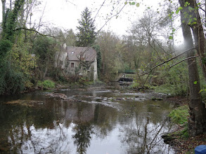 Photo: l'Yerres, le Moulin de Rochopt.