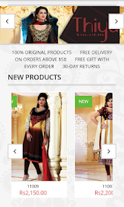 thiya.in - Exclusive Sarees screenshot 2