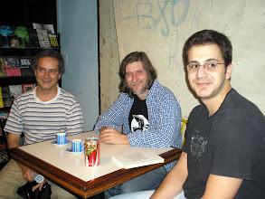 Photo: Ademir Assunção, Marcelo Montenegro e Sérgio Mello
