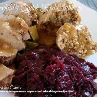 Gerhild's Super Quick Red Cabbage