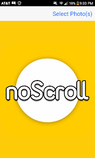noScroll Screenshot