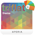 XPERIA Triflat Theme icon