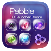 Pebble Go Launcher Theme