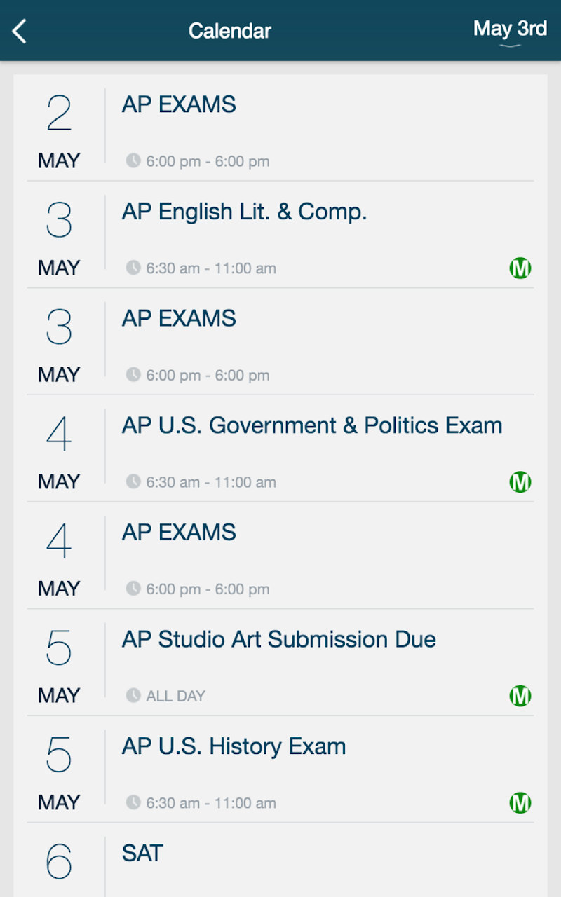 Скриншот Mullen High School