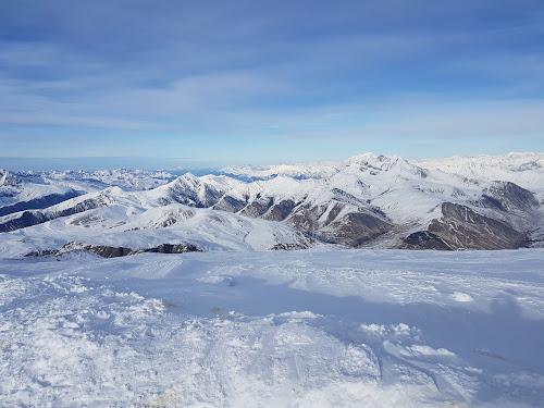 Piste aux 2 Alpes - Prise du glacier