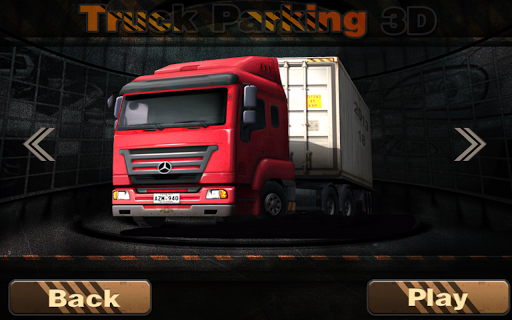 Real Truck Parking 3D  captures d'u00e9cran 1