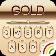 Gold Keyboard Golden Theme