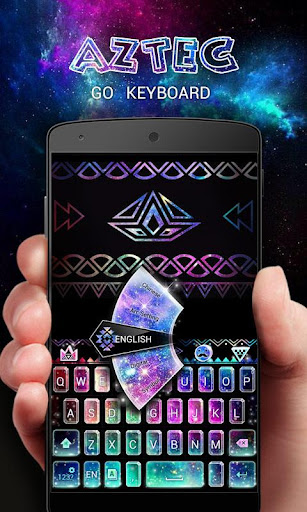 GO Keyboard Theme Aztec