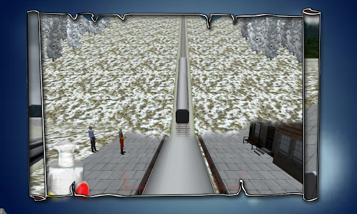 Snow Bullet Train Driving Sim
