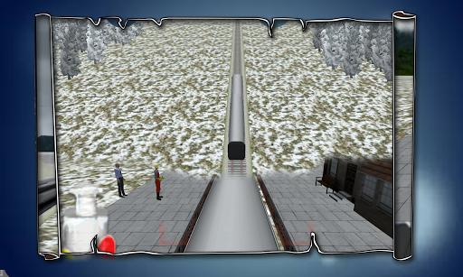白雪皚皚的山坡子彈頭列車SIM卡