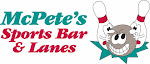 Logo for Mcpete's Sports Bar & Lanes