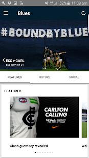 Carlton Official App - náhled
