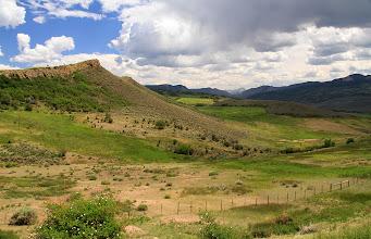 Photo: Les belles étendues vertes du Colorado.