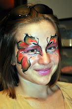 Photo: Beautiful Original Face Paintign by Paola Gallardo from http://www.BestPartyPlanner.net