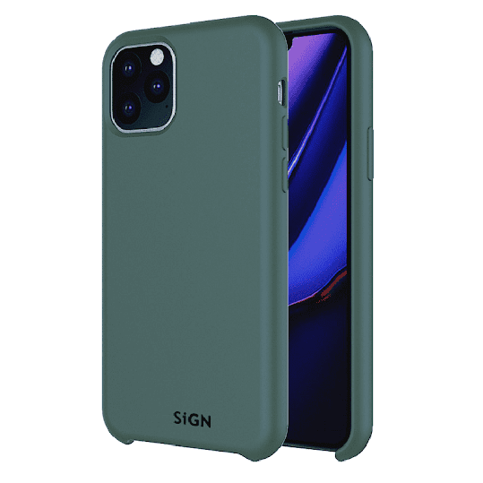 SiGN Liquid Silicone Case for iPhone 11 Pro- Mint