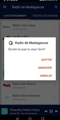 Madagascar Radio Stations screenshot 8