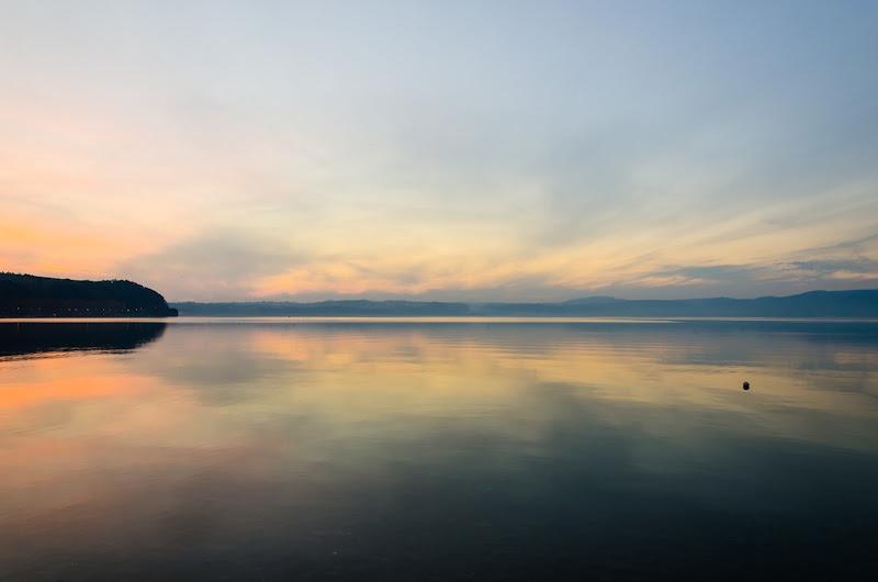 Lake Sunset di servi_marco