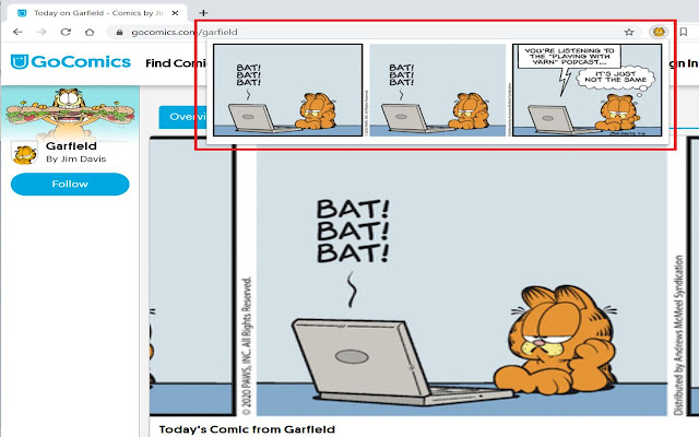 Daily Garfield Comics