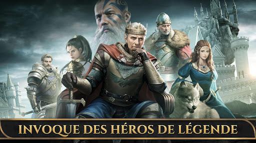 Code Triche King of Avalon : roi de la guerre des dragons APK MOD (Astuce) screenshots 1