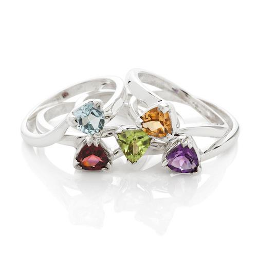Photo: Made in Earth Creations has launched a set of elegant stackable rings.