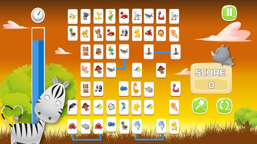 Connect Animals : Onet Kyodai (puzzle tiles game) 3 screenshots 2
