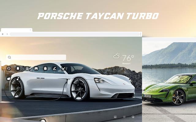 Porsche Taycan HD Wallpapers New Tab