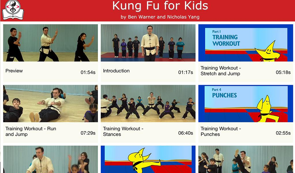Kung Fu for Kids- screenshot