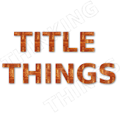 Title Things Think In Things