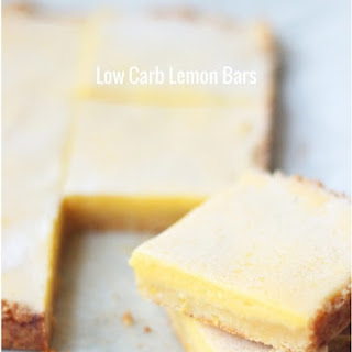 Low Carb Lemon Bar Recipe - Keto & Gluten Free
