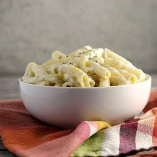 Creamy Garlic Pasta.